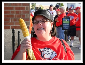 Awshucks Corn at Coca Cola Park.